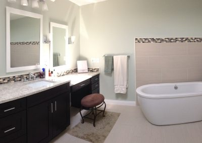 fox bath 8 1 400x284 - Carmel Master Bathroom Upgrade