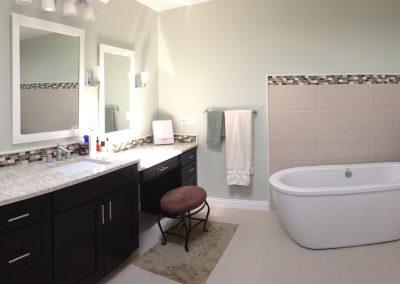 fox bath 8 400x284 - Kitchens and Bathrooms