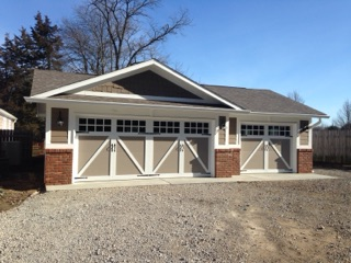 new construction garage 2 - Garages
